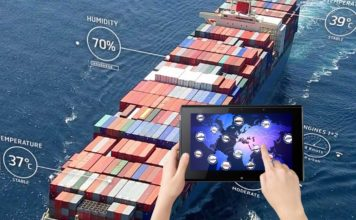 Autonomous Ships controlled and monitored using phone tablet